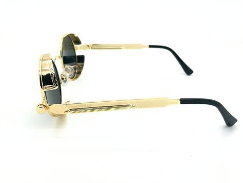 ASPEZO Okulary przeciwsłoneczne damskie POLARYZACYJNE złoto-czarne AMSTERDAM Etui skórzane, etui miękkie oraz ściereczka z mikrofibry w zestawie                              zdj.                              3