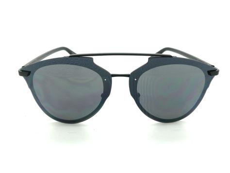 ASPEZO Okulary przeciwsłoneczne damskie czarne MANILA Etui skórzane, etui miękkie oraz ściereczka z mikrofibry w zestawie