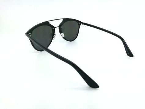 ASPEZO Okulary przeciwsłoneczne damskie czarne MANILA Etui skórzane, etui miękkie oraz ściereczka z mikrofibry w zestawie                              zdj.                              3