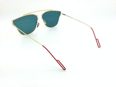 ASPEZO Okulary przeciwsłoneczne damskie pomarańczowe HAWAII Etui skórzane, etui miękkie oraz ściereczka z mikrofibry w zestawie                              zdj.                              3