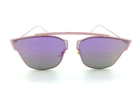 ASPEZO Okulary przeciwsłoneczne damskie purpurowe HAWAII Etui skórzane, etui miękkie oraz ściereczka z mikrofibry w zestawie                              zdj.                              1