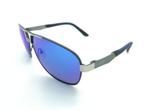 ASPEZO Okulary przeciwsłoneczne unisex POLARYZACYJNE niebieskie FLORIDA Etui skórzane, etui miękkie oraz ściereczka z mikrofibry w zestawie                              zdj.                              2