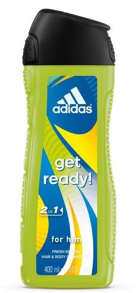 """Adidas Get Ready for Him Żel pod prysznic 2w1  400ml"""""""