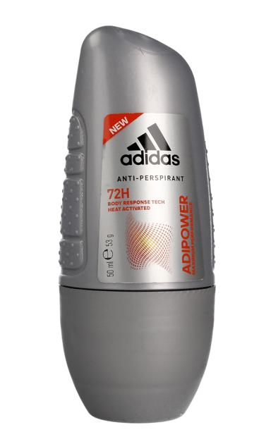 "Adidas Men Adipower Dezodorant 72H roll-on  50ml"""