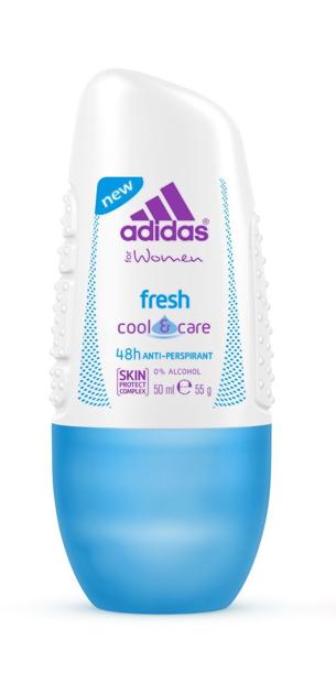 "Adidas for Women Cool & Care Dezodorant roll-on Fresh"""