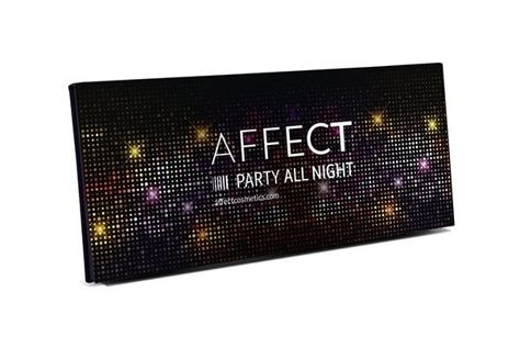 Affect Paleta cieni prasowanych Party All Night 18 g                                  zdj.                                  2
