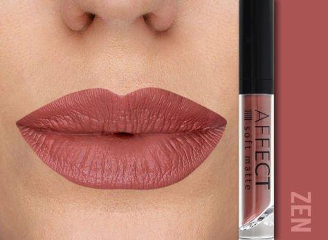Affect Pomadka w płynie Liquid Lipstick Soft Matte Zen 5 ml                                  zdj.                                  1