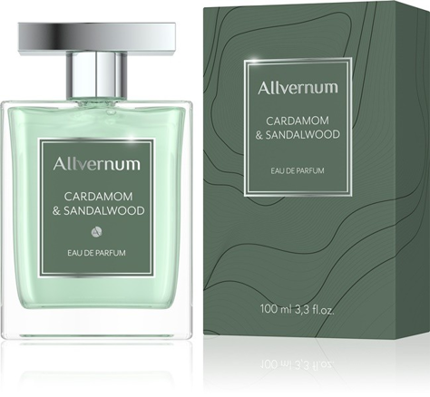 "Allvernum Men Woda pefumowana Cardamom & Sandalwood  100ml"""