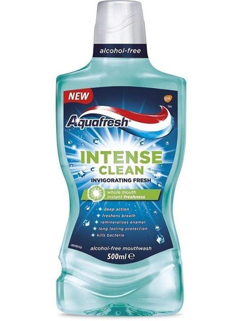 Aquafresh Płyn do płukania jamy ustnej Intense Clean Invigorating Fresh  500 ml