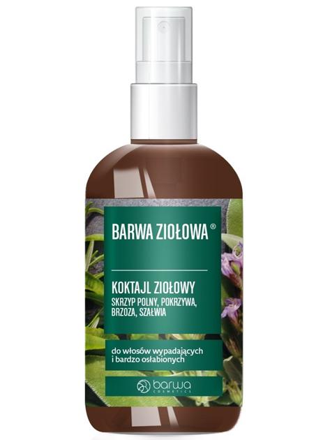 BARWA Ziołowa Koktajl Ziołowy do włosów bardzo osłabionych i wypadających - wcierka 95ml