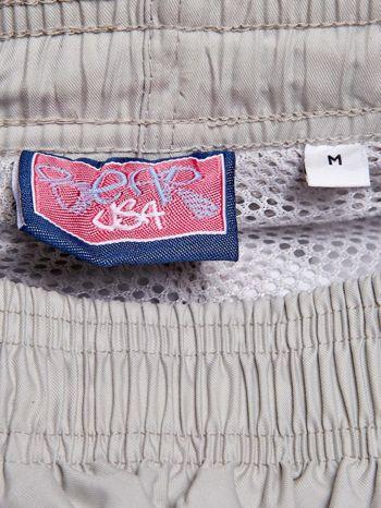BEAR USA Beżowe spodnie dresowe męskie                              zdj.                              3