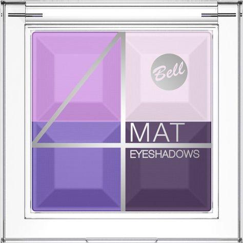 BELL 4 Mat Eyeshadows cień 06                                  zdj.                                  1