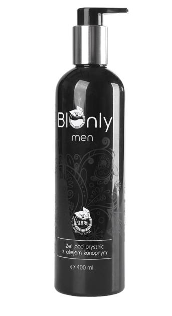 "BIOnly Men pod prysznic z olejem konopnym 400ml"""