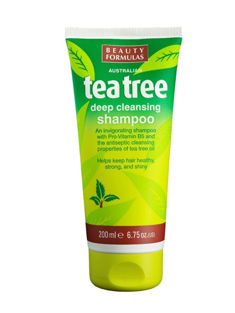 """Beauty Formulas Tea Tree Szampon oczyszczający do włosów  200ml"""""""