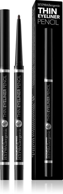 Bell HYPOAllergenic Thin Eyeliner Pencil Kredka do oczu 03 brąz
