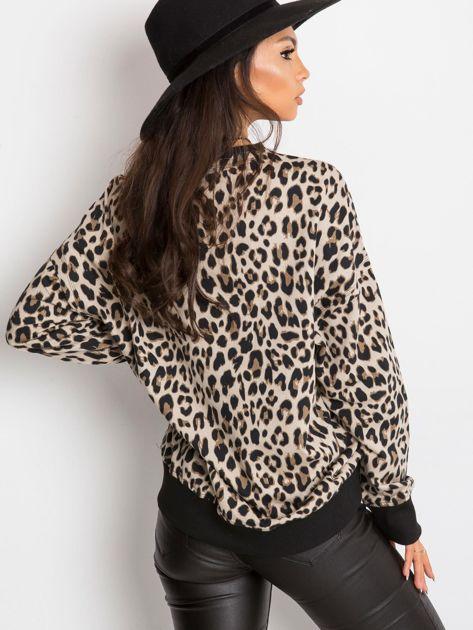 Beżowa bluza Panthera                              zdj.                              2