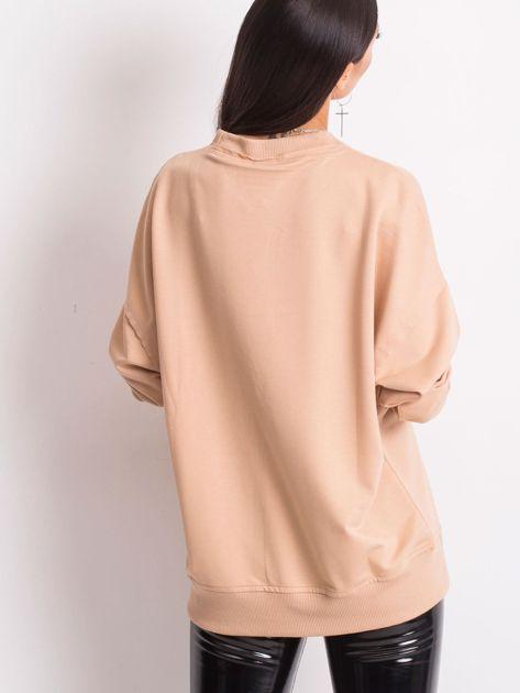 Beżowa bluza Wild                              zdj.                              2