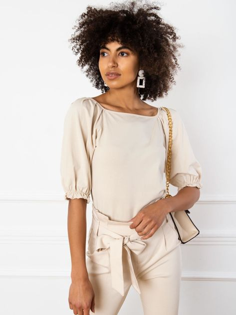 Beżowa bluzka Elodie