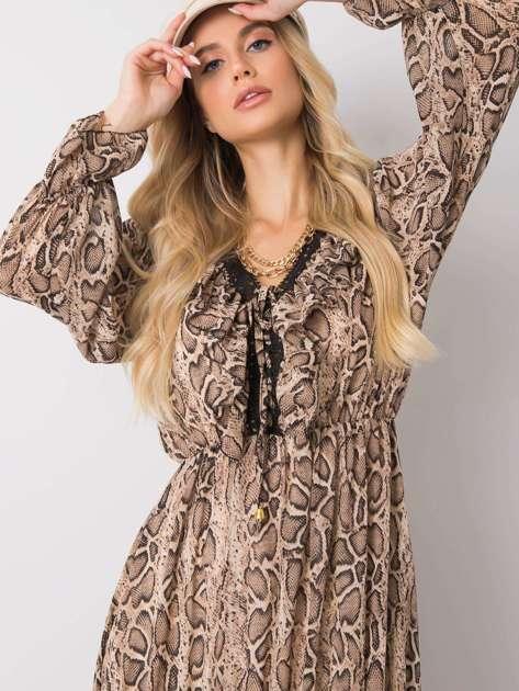 Beżowa sukienka Daily