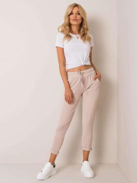 Beżowe spodnie Approachable