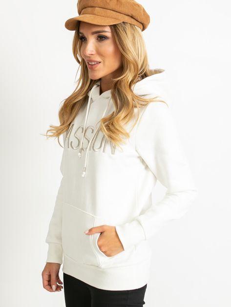 Biała bluza Bisou                              zdj.                              3