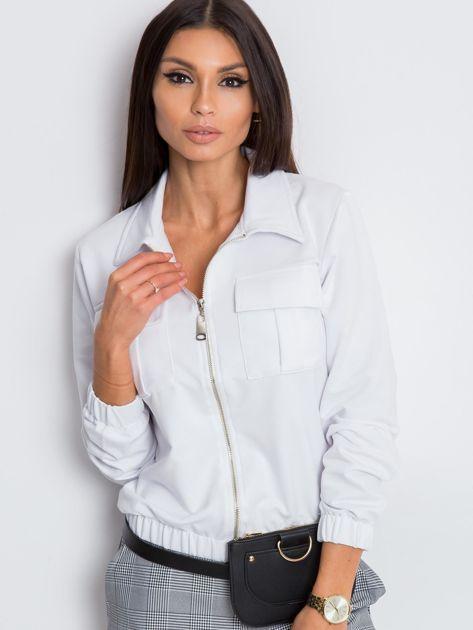 Biała bluza Madison                              zdj.                              5