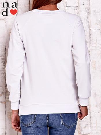Biała bluza w serduszka                                  zdj.                                  4
