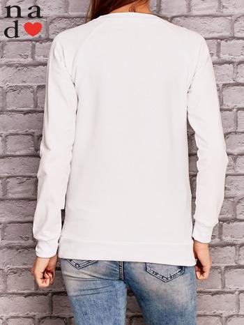 Biała bluza z napisem MAM FOCHA                                  zdj.                                  4
