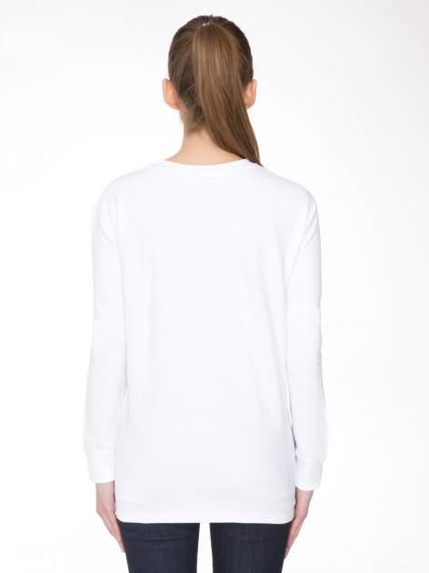 Biała bluza z narukiem AIN'T LAURENT WITHOUT YVES                                  zdj.                                  4