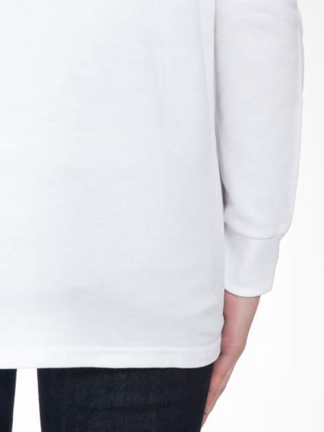 Biała bluza z narukiem AIN'T LAURENT WITHOUT YVES                                  zdj.                                  8