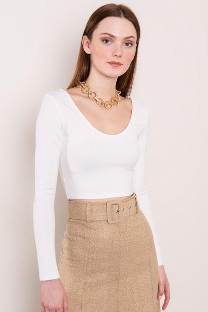 Biała bluzka BSL