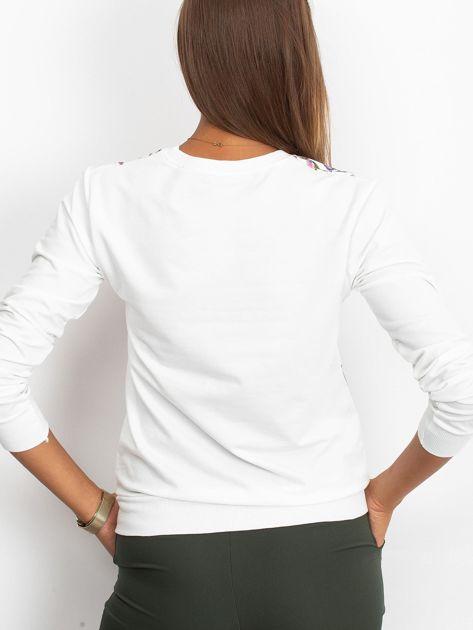 Biała klasyczna bluza damska                              zdj.                              3
