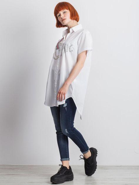 Biała koszula Cluelessly                               zdj.                              6