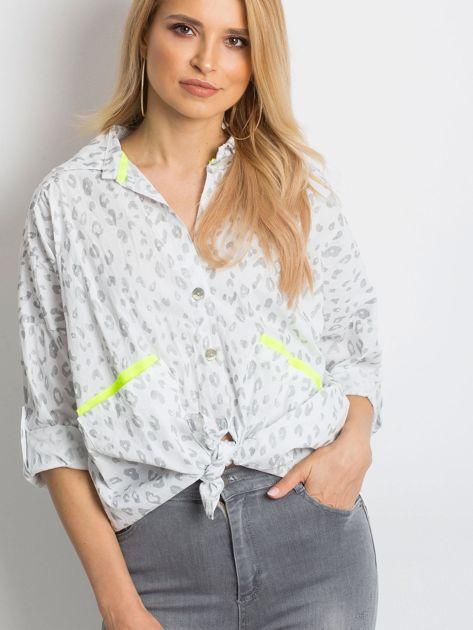 Biała koszula Stylish                              zdj.                              1