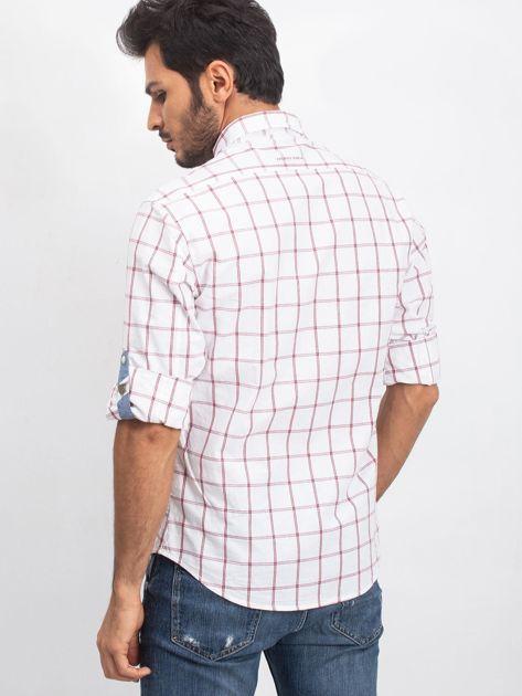 Biała koszula męska Fusion                              zdj.                              2