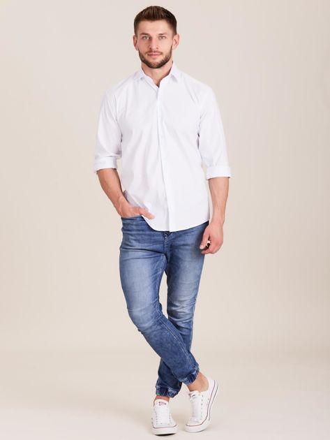 Biała koszula męska regular                              zdj.                              4
