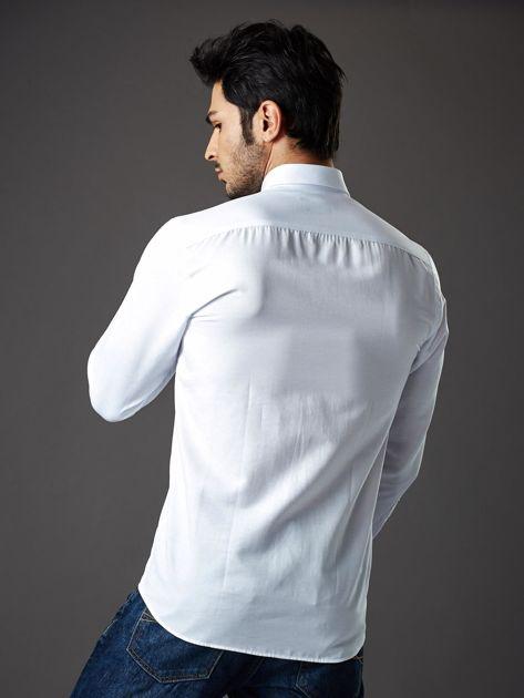 Biała koszula męska regular fit                              zdj.                              2