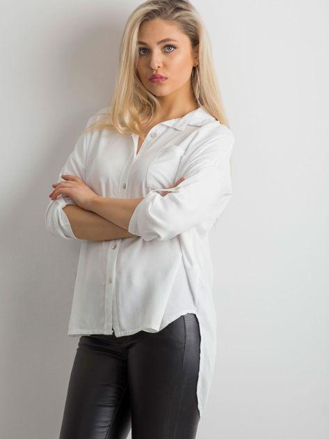 Biała luźna koszula                              zdj.                              3