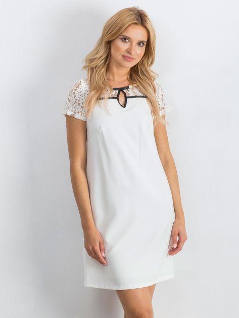Biała sukienka Irresistible                               zdj.                              1