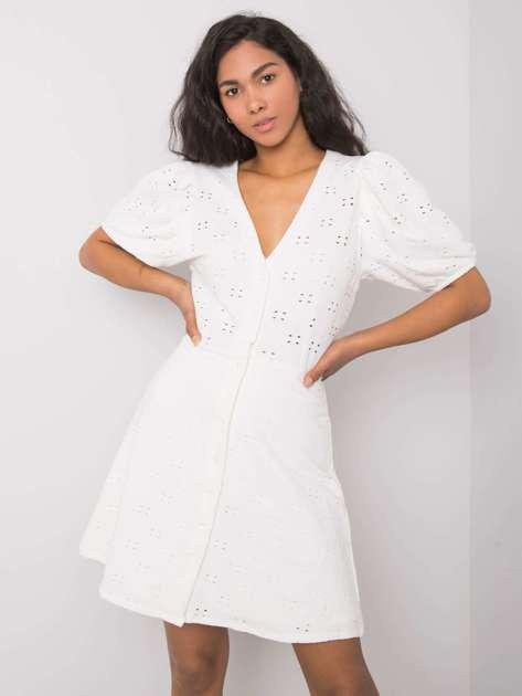 Biała sukienka Issa RUE PARIS