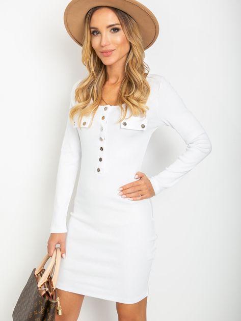 Biała sukienka Juliet                              zdj.                              1
