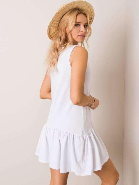Biała sukienka Triple RUE PARIS