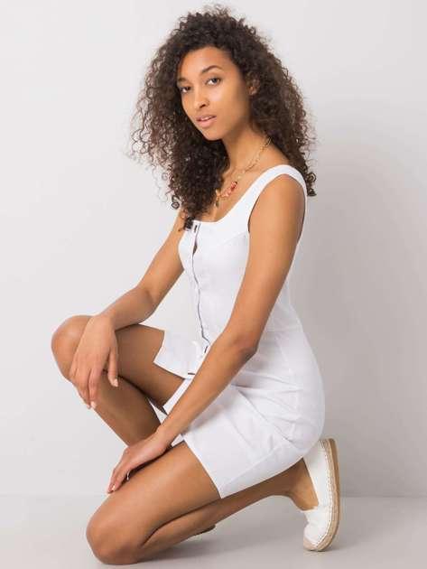 Biała sukienka Zorina