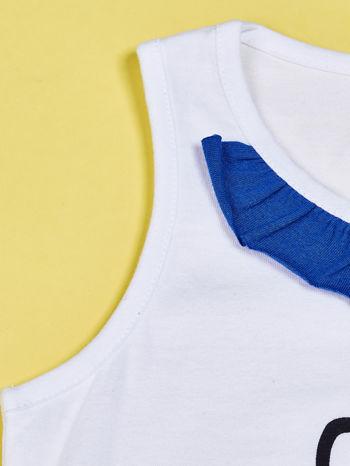 Biała tunika dla dziewczynki HELLO KITTY                              zdj.                              7