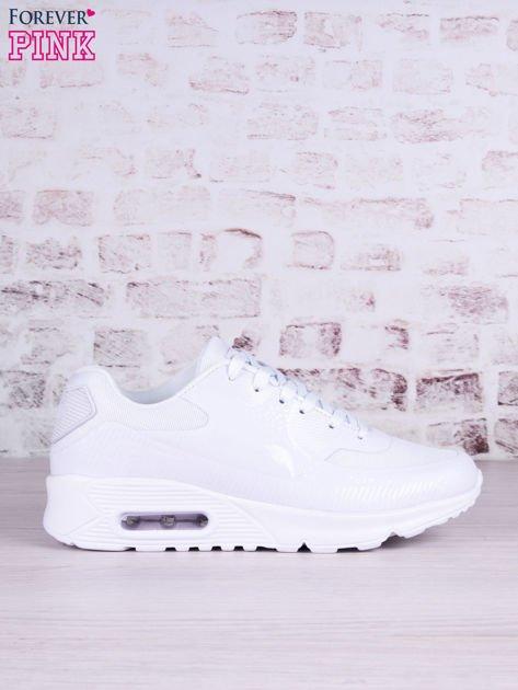 Białe buty sportowe faux leather Milkshake na poduszce powietrznej                                   zdj.                                  1