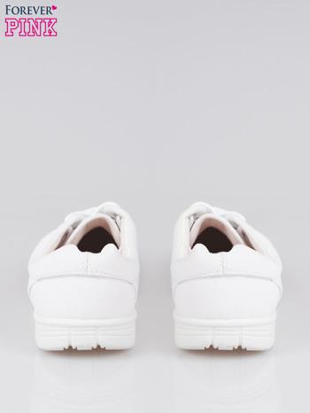 Białe buty sportowe textile Superior na podeszwie flex                                  zdj.                                  3