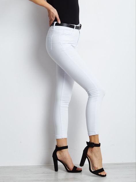 Białe jeansy Snowflake                              zdj.                              3
