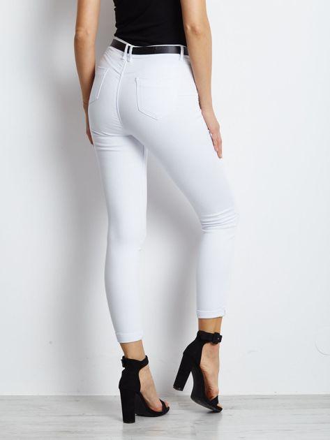Białe jeansy Snowflake                              zdj.                              2