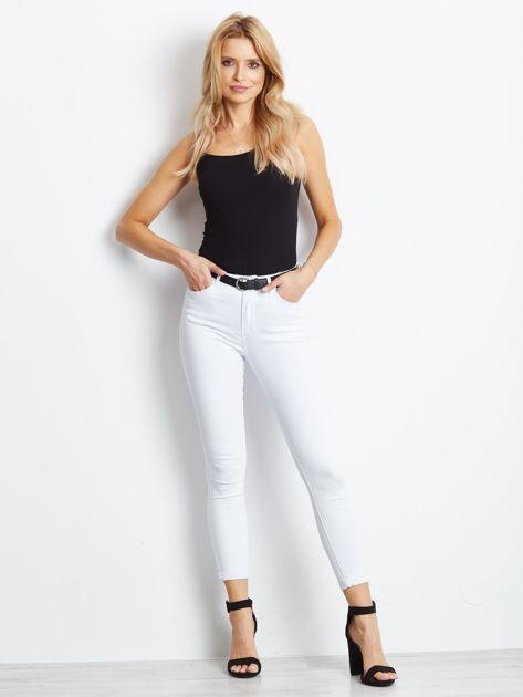 Białe jeansy Snowflake                              zdj.                              4