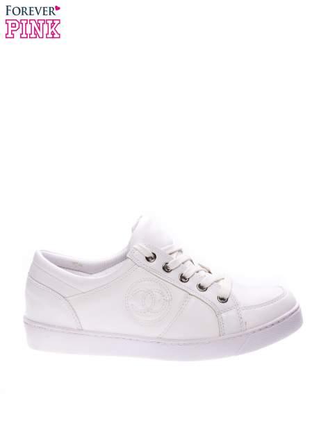 Białe klasyczne buty sportowe Showtime                                  zdj.                                  1